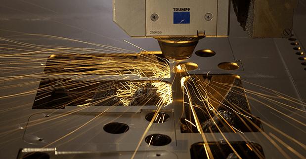 Découpe au laser